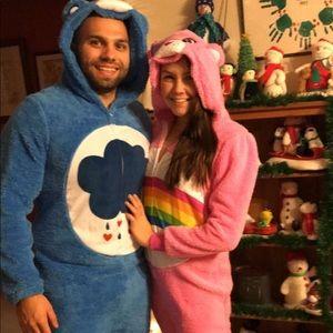 Couples care bear Halloween costume